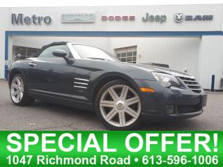 Used 2008 Chrysler Crossfire Mint Condition  & Low KMs for sale in Ottawa, ON