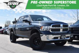 Used 2016 RAM 1500 SLT - One Owner, Upgraded Rims & Tires for sale in London, ON