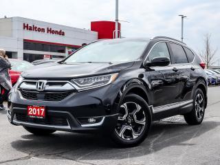 Used 2017 Honda CR-V Touring AWD for sale in Burlington, ON