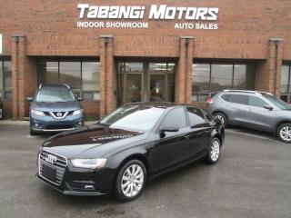 Used 2014 Audi A4 QUATTRO | NO ACCIDENTS | LEATHER | SUNROOF | HEATED SEATS | for sale in Mississauga, ON