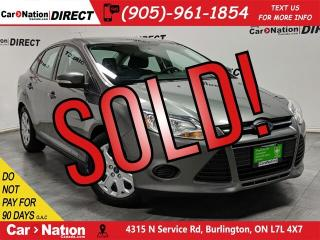 Used 2014 Ford Focus SE| LOW KM'S| WE WANT YOUR TRADE| for sale in Burlington, ON