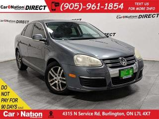 Used 2006 Volkswagen Jetta TDI| AS-TRADED| SUNROOF| HEATED SEATS| for sale in Burlington, ON