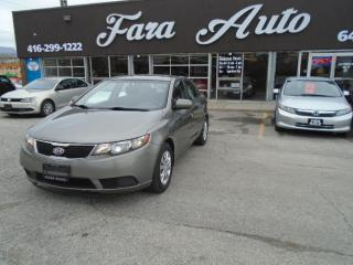 Used 2012 Kia Forte LX AUTO & SEDAN for sale in Scarborough, ON