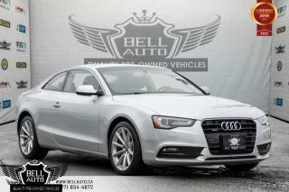 Used 2014 Audi A5 Progressiv, NAVI, SUNROOF, LEATHER, BLUETOOTH, A/C, HEATED SEATS for sale in Toronto, ON
