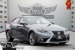 Used 2014 Lexus IS 250 BACK-UP CAM, SUNROOF, COOLED SEATS, LEATHER, BLUETOOTH for sale in Toronto, ON