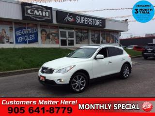 Used 2014 Infiniti QX50 Journey  AWD ROOF LEATH CAM 2X-P/SEATS BT for sale in St. Catharines, ON
