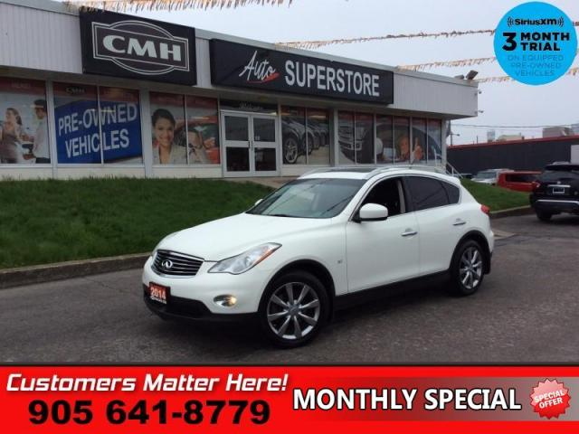 2014 Infiniti QX50 Journey  AWD ROOF LEATH CAM 2X-P/SEATS BT