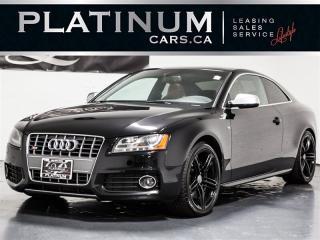 Used 2010 Audi S5 4.2 QUATTRO, NAVI, BLINDSPOT, BANG&OLUFSEN for sale in Toronto, ON
