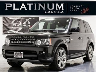 Used 2012 Land Rover Range Rover Sport Supercharged V8, NAVI, CAM, Harman Kardon for sale in Toronto, ON