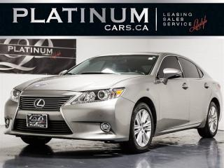 Used 2015 Lexus ES 350 NAVI, CAM, BLINDSPOT, HEATED VENTED SEATS for sale in Toronto, ON