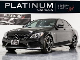Used 2018 Mercedes-Benz C43 AMG 4MATIC, NAVI, 360 CAM, BURMEISTER, Pano for sale in Toronto, ON