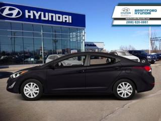 Used 2014 Hyundai Elantra GL AUTO  - $89.09 B/W - Low Mileage for sale in Brantford, ON