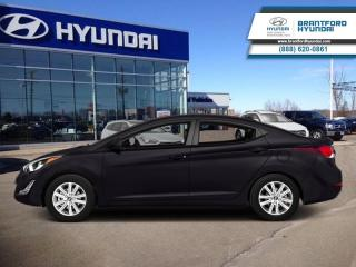 Used 2014 Hyundai Elantra GL AUTO  - $94.65 B/W - Low Mileage for sale in Brantford, ON