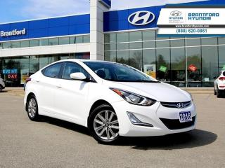 Used 2016 Hyundai Elantra SE  - Heated Mirrors -  SiriusXM - $105.79 B/W for sale in Brantford, ON