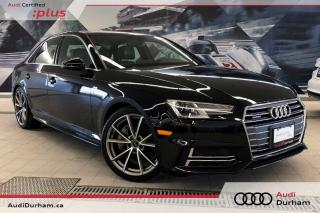 Used 2017 Audi A4 2.0T Progressiv + CarPlay | S-Line | Rear Cam for sale in Whitby, ON