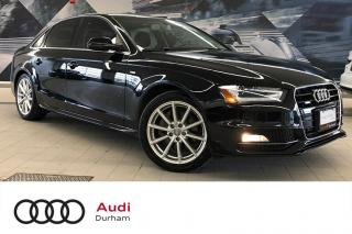 Used 2015 Audi A4 2.0T Progressiv + Nav | Rear Cam | Keyless for sale in Whitby, ON