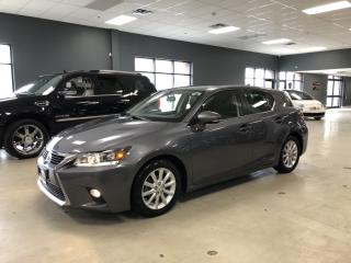Used 2014 Lexus CT 200h LEATHER*HEATED SEATS, BLUETOOTH*NO ACCIDENTS*CERTI for sale in North York, ON