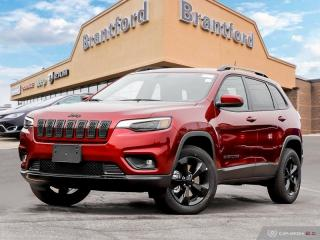New 2019 Jeep Cherokee Altitude  - Navigation -  Uconnect - $248.88 B/W for sale in Brantford, ON