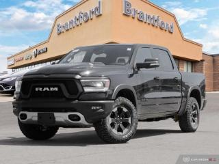 New 2019 RAM 1500 Rebel  - Leather Seats - Navigation - $369.53 B/W for sale in Brantford, ON