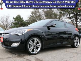 Used 2015 Hyundai Veloster Tech| Pano Roof| Backup Cam| Heat Seat| Low KMS! for sale in Stoney Creek, ON
