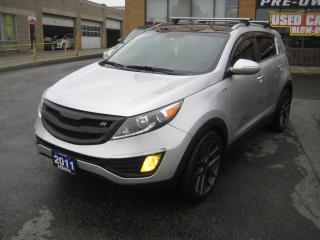 Used 2011 Kia Sportage SX-T GDI SX  AWD NAVIGATION for sale in North York, ON