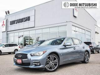 Used 2015 Infiniti Q50 LIMITED | SPORT WHEELS | NAVI | BACKUP CAM for sale in Mississauga, ON