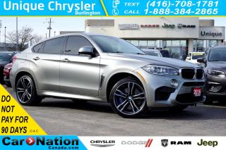 Used 2016 BMW X6 M 567hp| PREMIUM| HARMAN KARDON| SUNROOF| NAV for sale in Burlington, ON