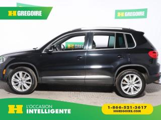 Used 2017 Volkswagen Tiguan COMFORTLINE 4Motion for sale in St-Léonard, QC