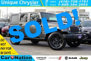 Used 2018 Jeep Wrangler Unlimited SAHARA| LED| NAV| ALPINE SOUNDS| REMOTE START for sale in Burlington, ON