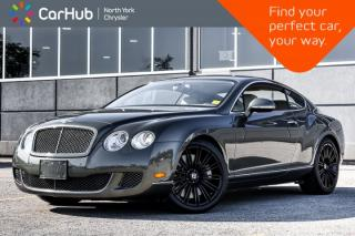 Used 2010 Bentley Continental GT Speed |BreitlingClock|MassageSeats|AirSuspension for sale in Thornhill, ON