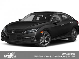 New 2019 Honda Civic Touring $181 BI-WEEKLY - $0 DOWN for sale in Cranbrook, BC