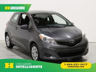 Used 2014 Toyota Yaris CE A/C BLUETOOTH for sale in St-Léonard, QC