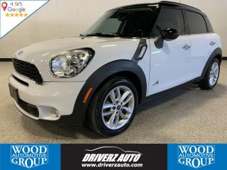 Used 2013 MINI Cooper Countryman Cooper S AWD, DUAL PANE SUNROOF, 1.6L TURBO for sale in Calgary, AB