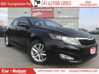 Used 2013 Kia Optima LX+ PANO ROOF| ONLY 31,806KMS| B/U CAM| HTD SEATS for sale in Georgetown, ON