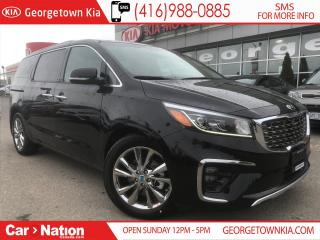 Used 2019 Kia Sedona SXL+ | $299 BI-WEEKLY | EVERY FEATURE POSSIBLE | for sale in Georgetown, ON