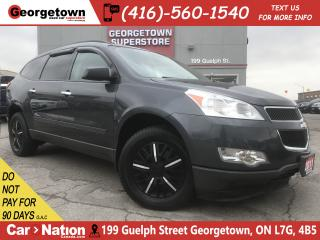 Used 2011 Chevrolet Traverse 1LS | 7 PASS | REAR HEAT | SIDE VENTS | TINTS for sale in Georgetown, ON