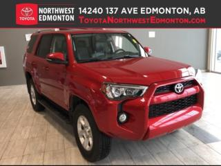 Used 2016 Toyota 4Runner SR5 | 4X4 | Backup Cam | Bluetooth | Heat Seats | for sale in Edmonton, AB