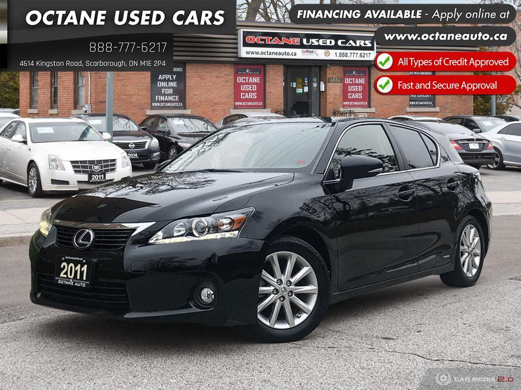 Types Of Lexus >> Used 2011 Lexus Ct 200h 1 Owner Hybrid For Sale In Scarborough