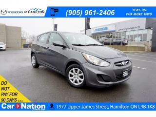 Used 2013 Hyundai Accent GL | HEATED SEATS | CRUISE CONTROL | USB & AUX for sale in Hamilton, ON