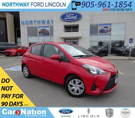 Used 2018 Toyota Yaris LE | HTD SEATS | CRUISE | BLUETOOTH | KEYLESS | for sale in Brantford, ON