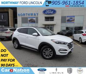 Used 2018 Hyundai Tucson SE | AWD | PWR HTD LEATHER | PANO ROOF | for sale in Brantford, ON