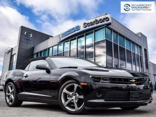 Used 2014 Chevrolet Camaro CONVERTIBLE|AUTO|2LT for sale in Scarborough, ON