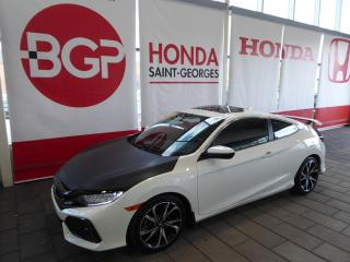 Used 2017 Honda Civic SI for sale in St-Georges, QC
