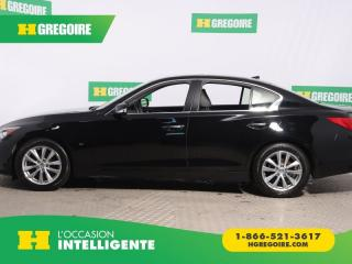Used 2015 Infiniti Q50 4DR SDN AWD A/C CUIR for sale in St-Léonard, QC