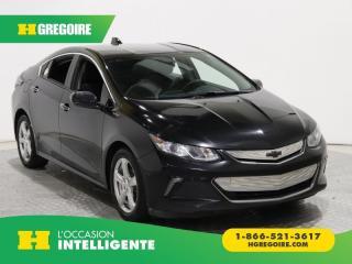 Used 2017 Chevrolet Volt LT A/C GR ELECT for sale in St-Léonard, QC