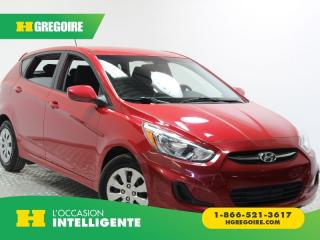 Used 2016 Hyundai Accent Gls A/c for sale in St-Léonard, QC