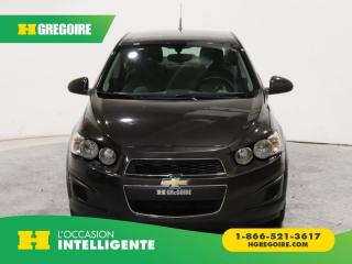 Used 2014 Chevrolet Sonic Ls Bluetooth for sale in St-Léonard, QC