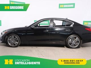 Used 2014 Infiniti Q50 Sport Awd Cuir Toit for sale in St-Léonard, QC