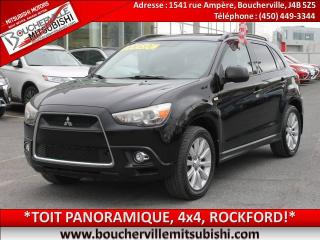 Used 2011 Mitsubishi RVR Gt Toit Pano, 4x4 for sale in Boucherville, QC