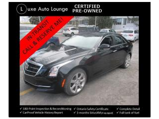 Used 2015 Cadillac ATS Luxury AWD SUNROOF, NAV, BACK-UP CAMERA, LOW KM! for sale in Orleans, ON